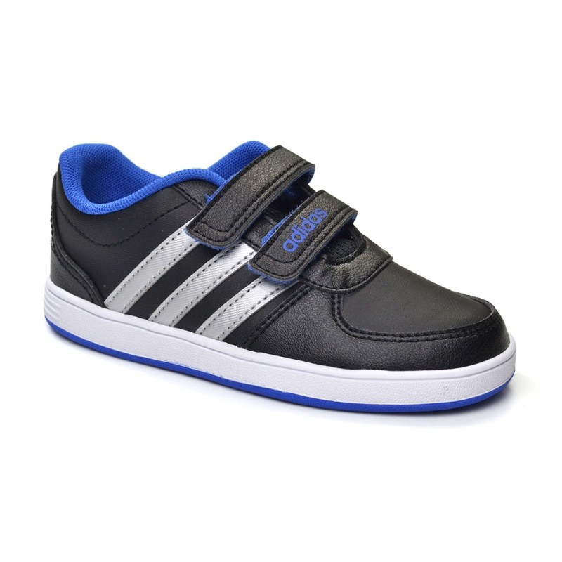 e378f02a35c Bizz Store - Tênis Infantil Masculino Adidas Hoops CMF Preto