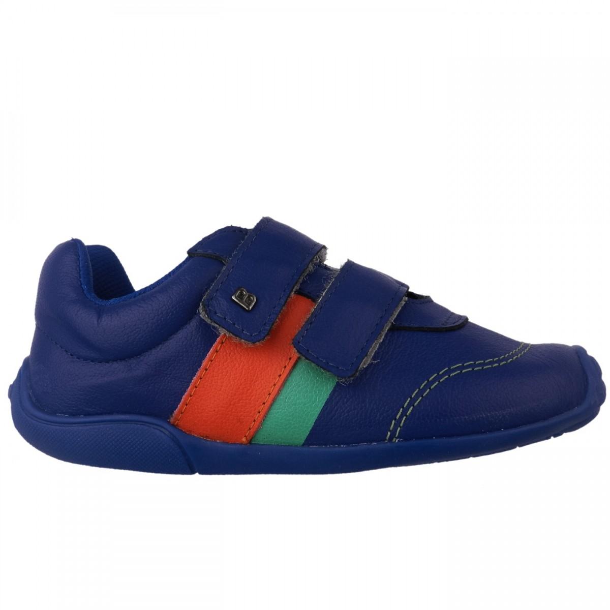 711e206bc Bizz Store - Tênis Infantil Menino Bibi Fisioflex New Azul Couro
