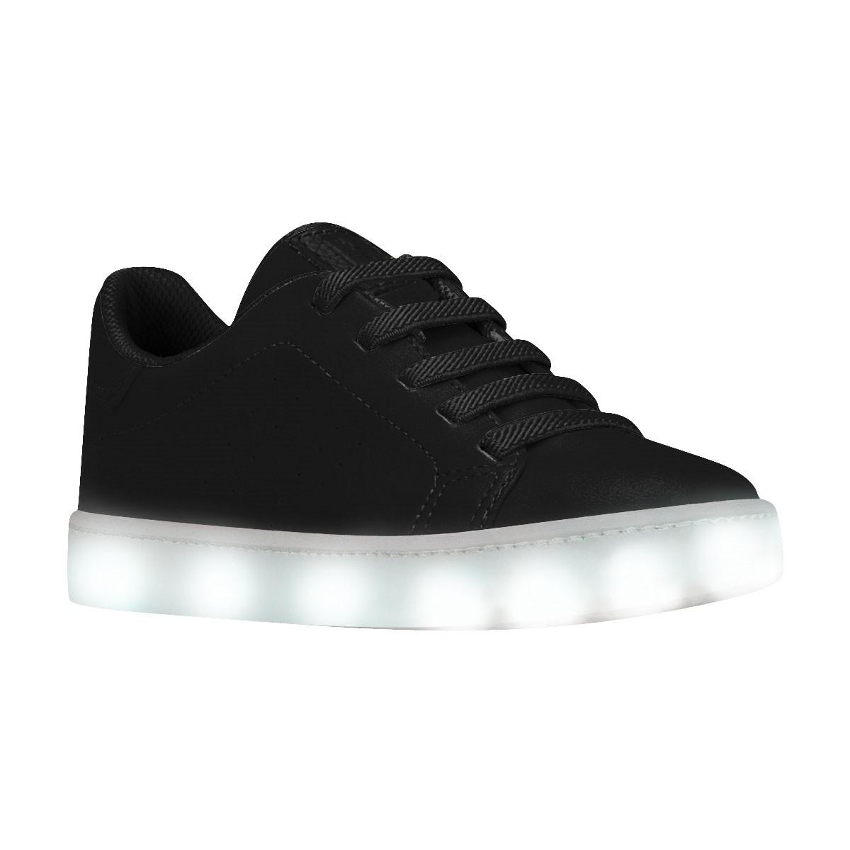 d49be5abb Bizz Store - Tênis Infantil Bibi Luzinhas de LED Clique-se Preto