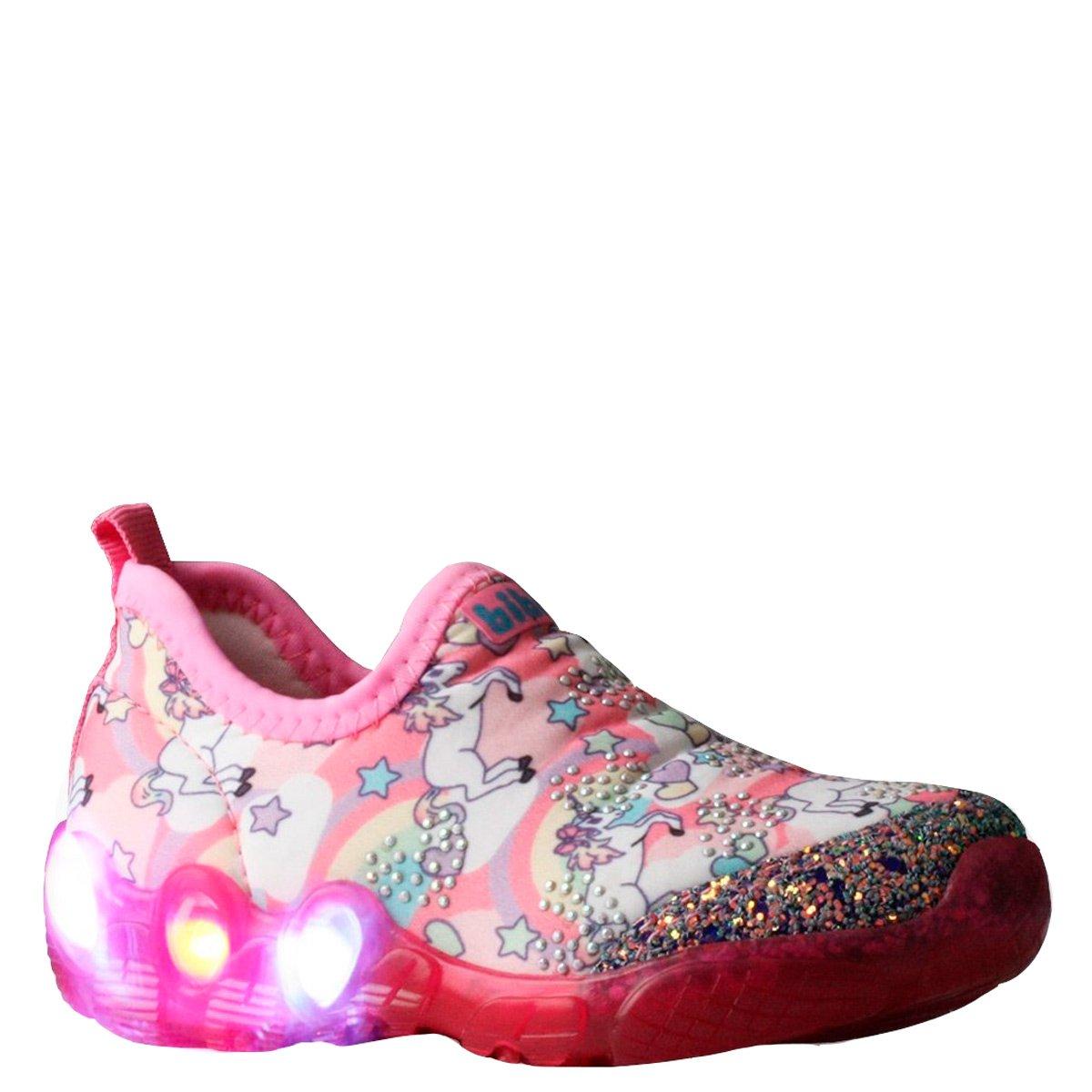 1ff7babd5 Bizz Store - Tênis Infantil Menina Bibi Space Wave Com Luzinhas