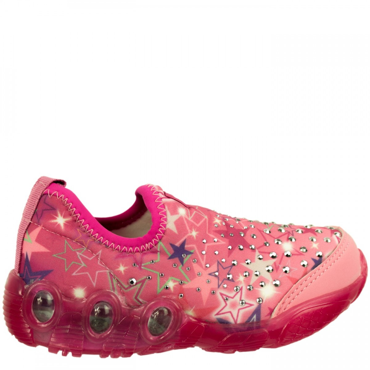 b1ddd036c2 Bizz Store - Tênis Infantil Menina Bibi Space Wave Com Luzinhas