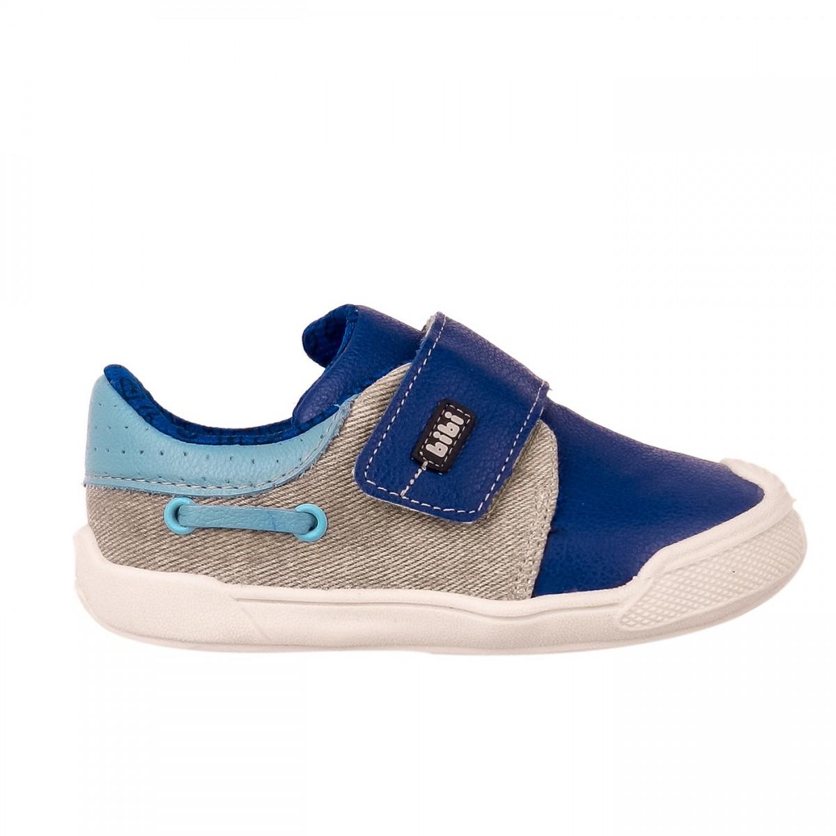 ce59665b481ab Bizz Store - Tênis Infantil Masculino Bibi Crescer New II Azul
