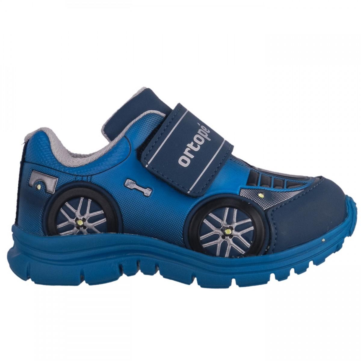 37d06f390f Bizz Store - Tênis Infantil Masculino Ortopé DNA Light Com Luzes