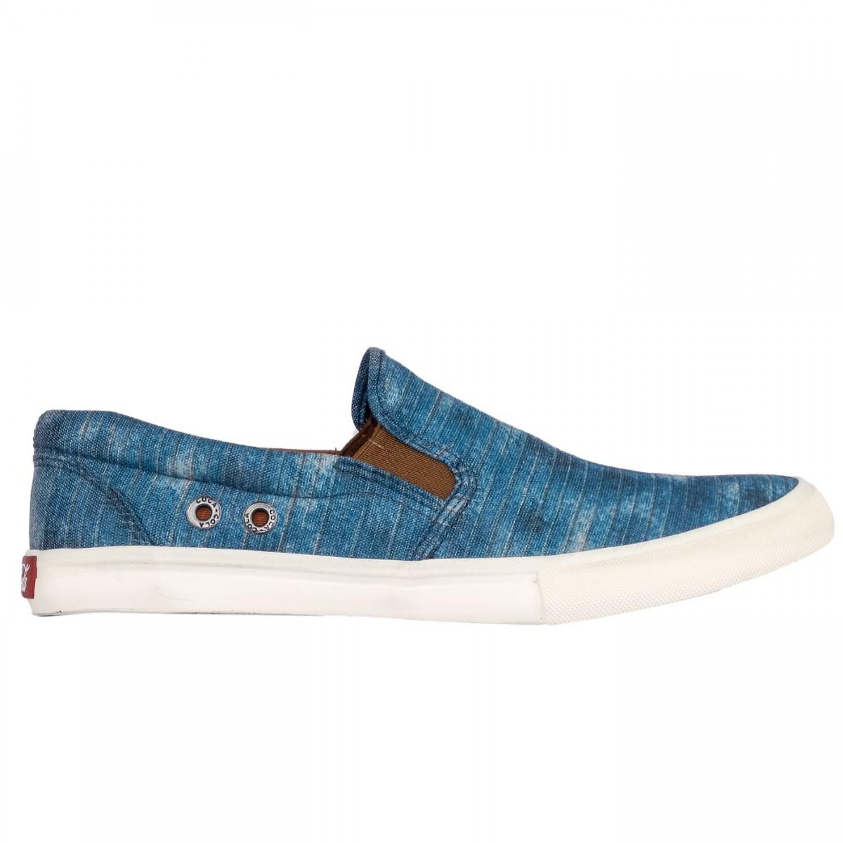 4a8ee47050 Bizz Store - Tênis Masculino Coca-Cola Iate Vip Jeans Azul
