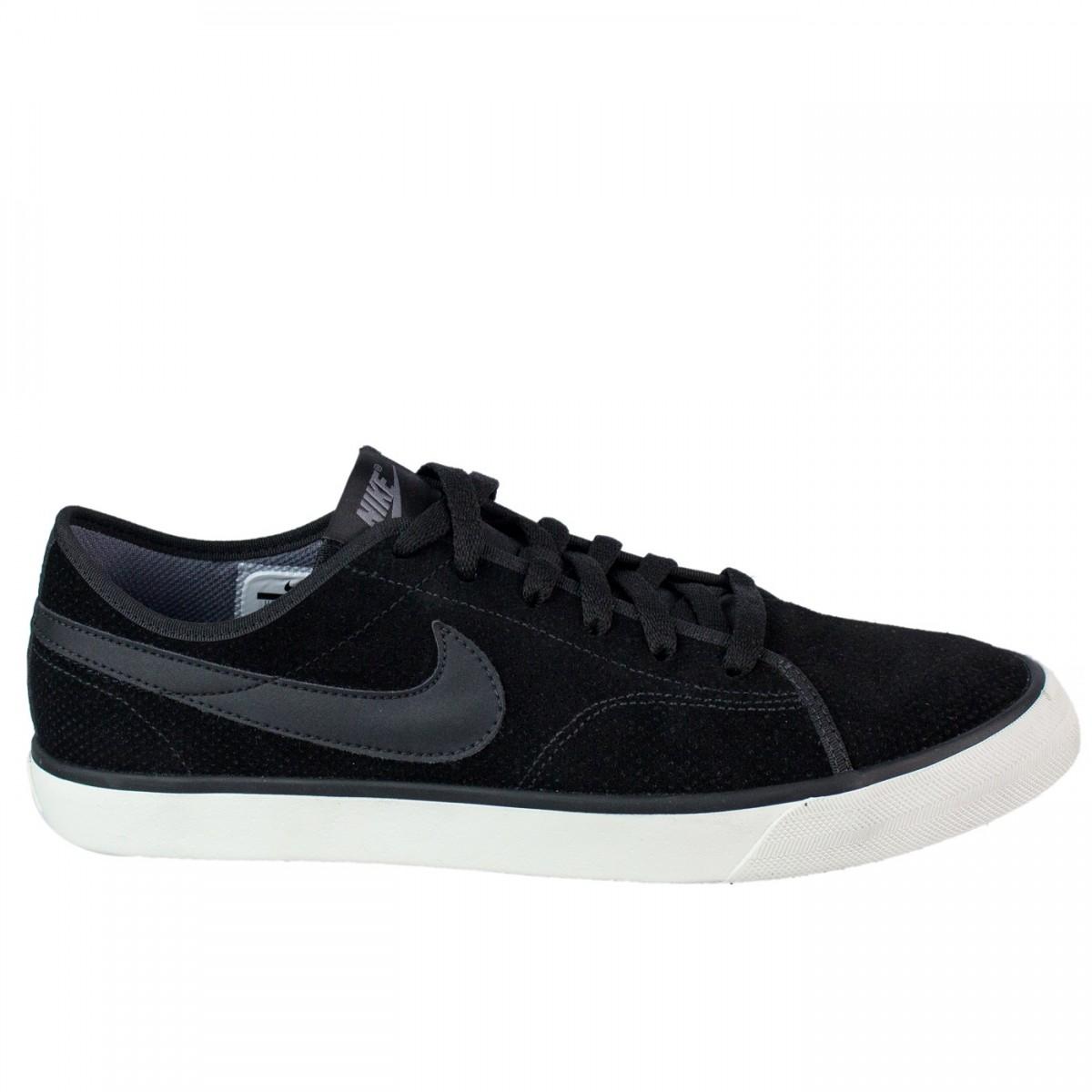 Bizz Store - Tênis Masculino Nike Primo Court Leather Preto b7114e83ff7b1