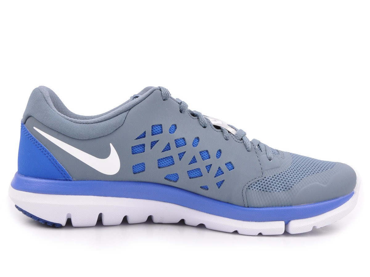 bd28725565 Tênis Nike 724933-403 Flex 2015 - Cinza azul