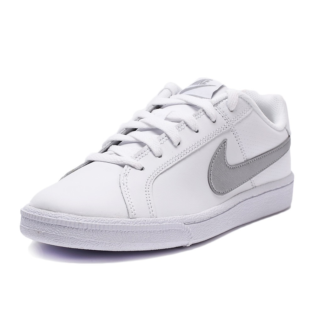 Bizz Store - Tênis Feminino Nike Court Royale Branco Couro 00a1852872f5c