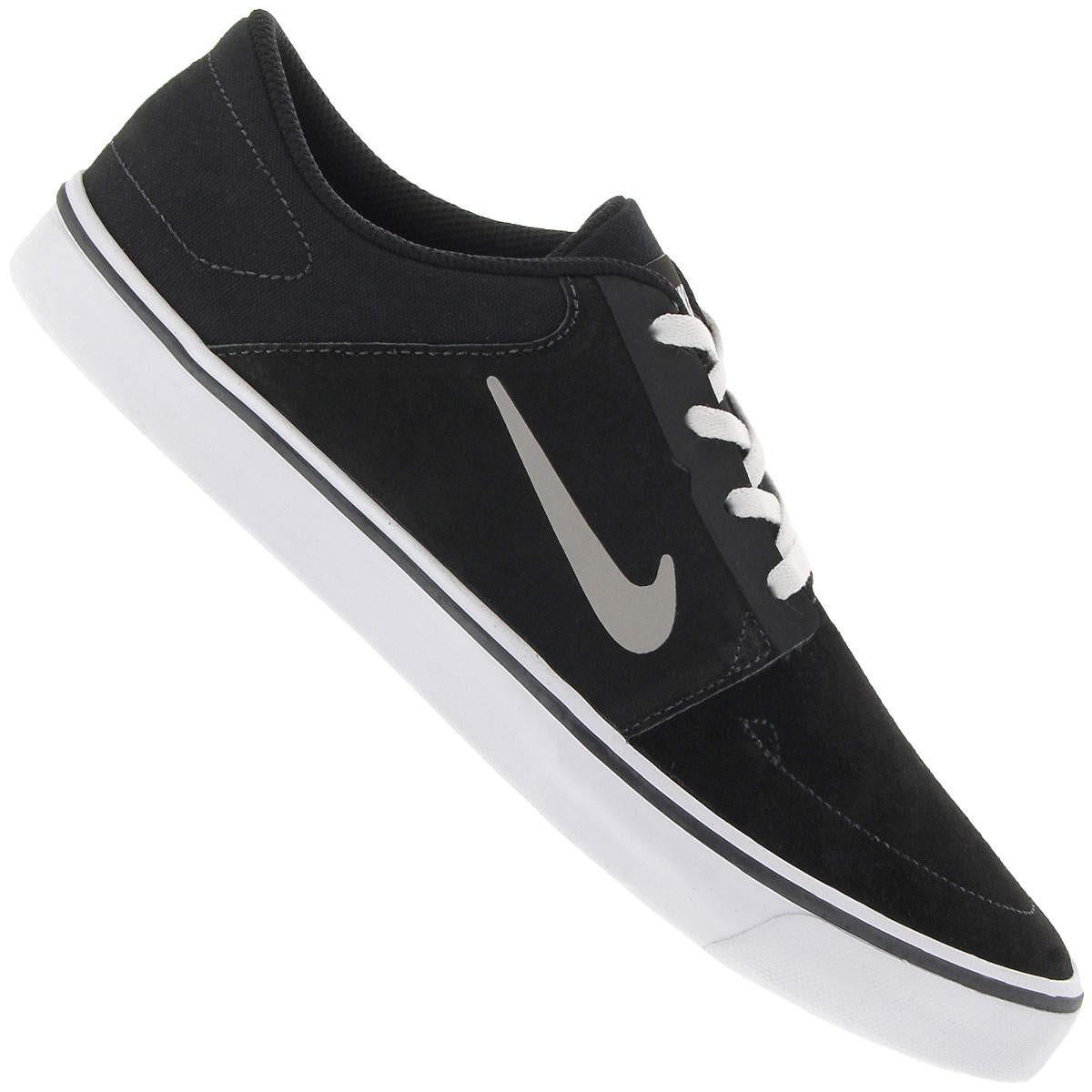 fee6f0ba90 Bizz Store - Tênis Masculino Nike SB Portmore Skate Preto/Cinza