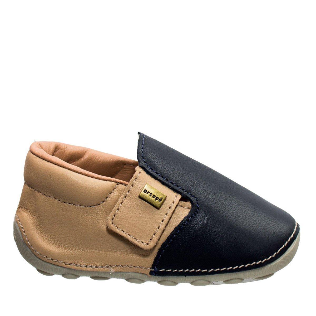 bb93b46547 Bizz Store - Sapato Bebê Menino Ortopé Primeiros Passos Couro
