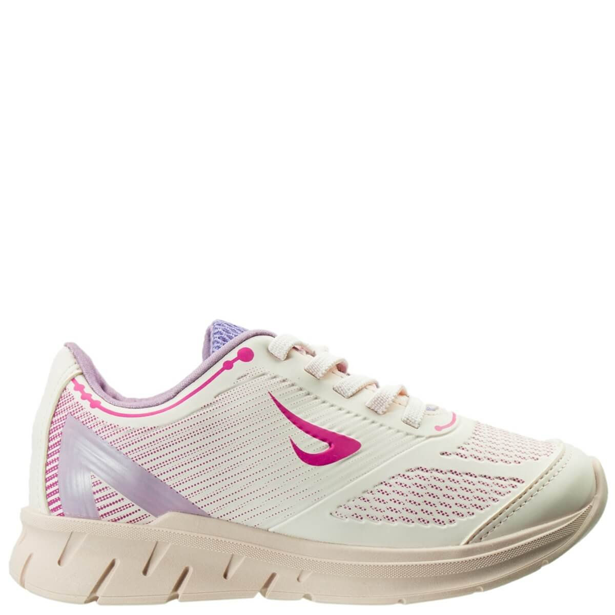 04ff3dc07 Bizz Store - Tênis Infantil Menina Ortopé Jogging Sport Rosa