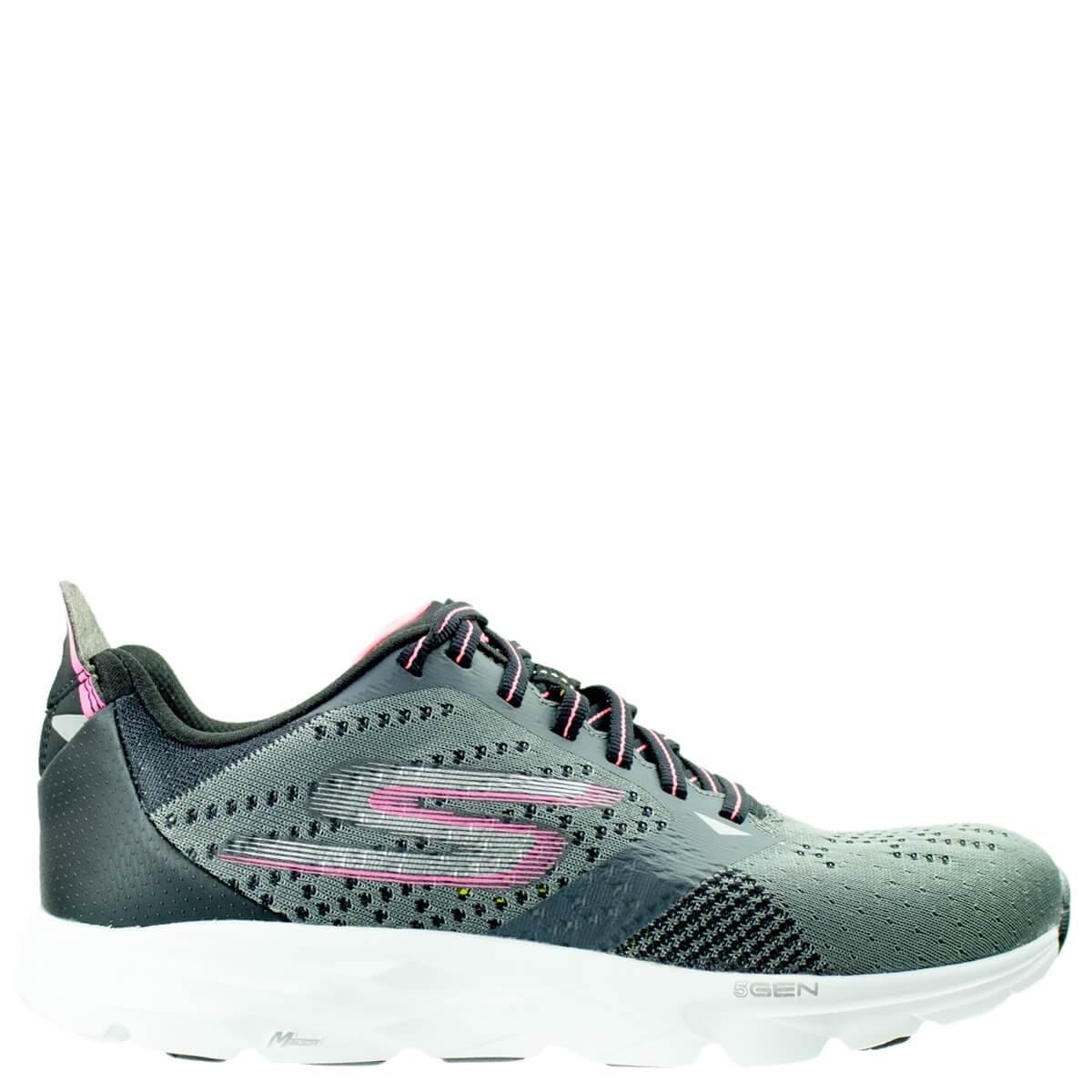 886a12762a5 Bizz Store - Tênis Feminino Skechers Go Run Ride 6 Cinza