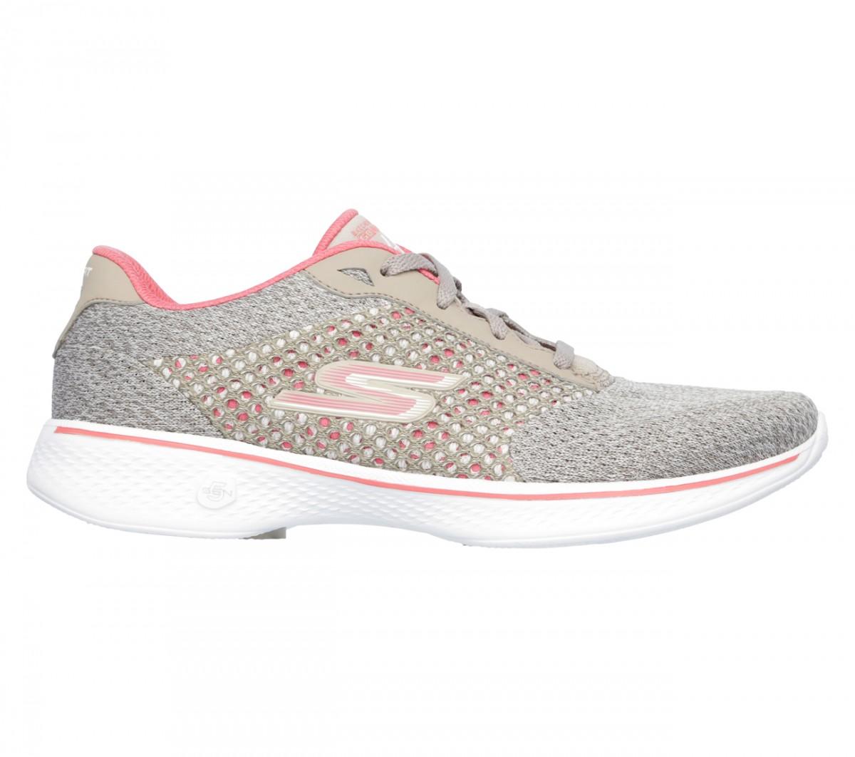 786b582df6 Bizz Store - Tênis Feminino Skechers Go Walk 4 Exceed Caminhada