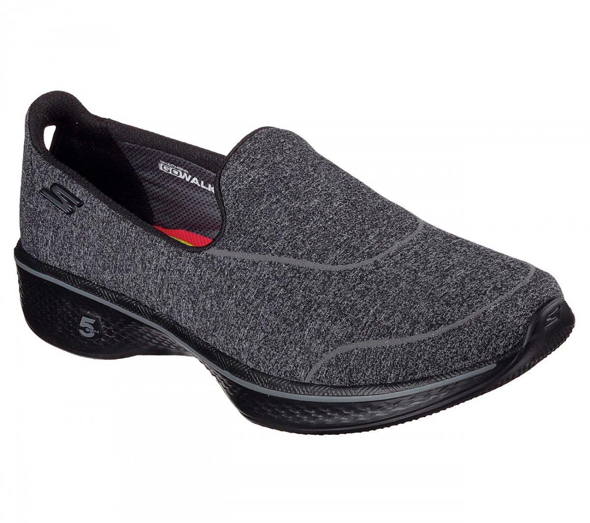 9c08d2455 Bizz Store - Tênis Feminino Skechers Go Walk 4 Super Sock