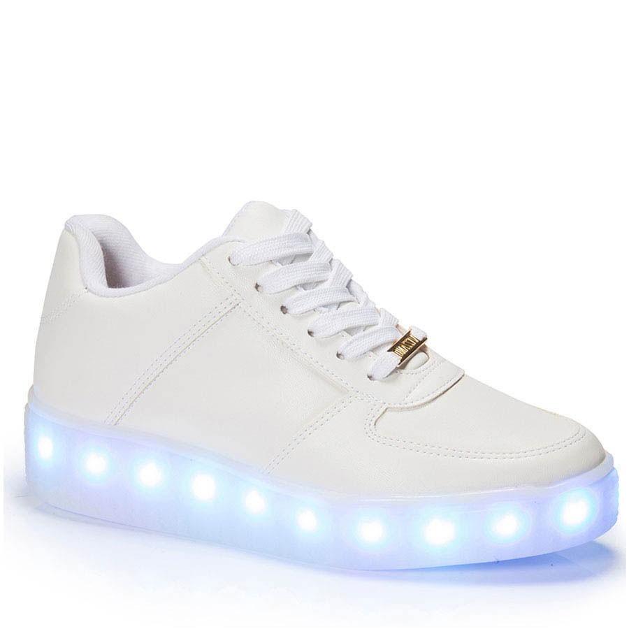 e3e4226757 Bizz Store - Tênis de LED Feminino Vizzano Metalizado Couro