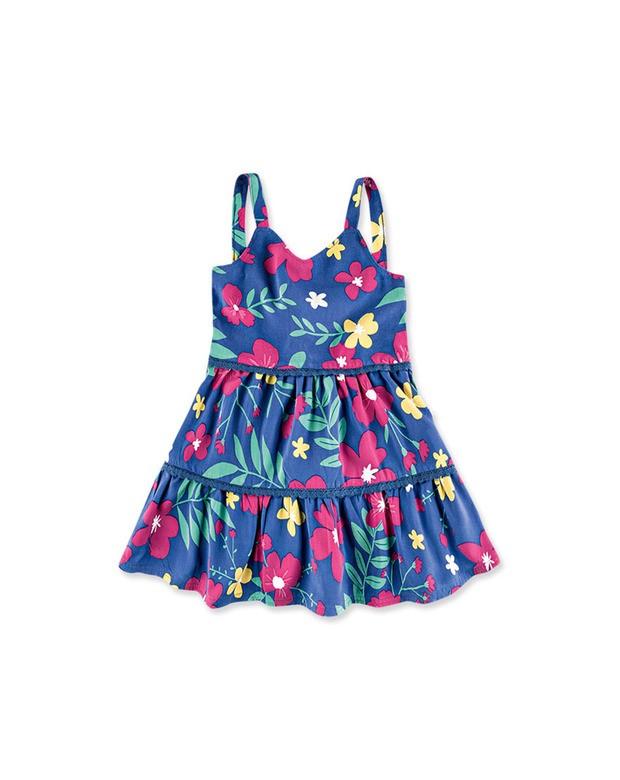 Conhecido Bizz Store - Vestido Infantil Bebê Menina Hering Kids Azul JT28