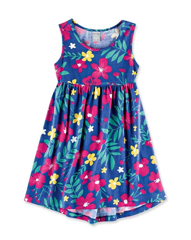 3972abcc22 Bizz Store - Vestido Infantil Feminino Hering Kids Verde