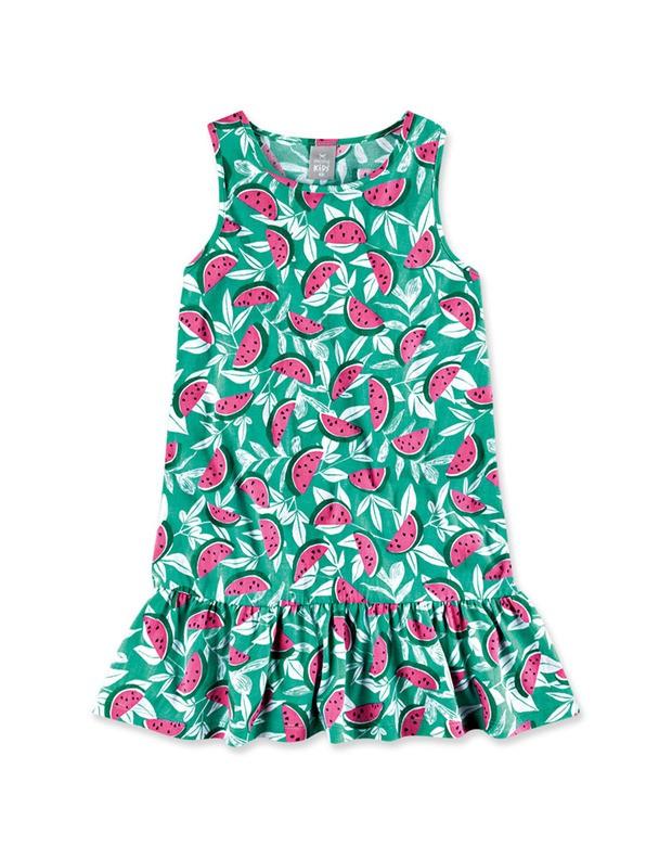 605b2f4e93 Bizz Store - Vestido Infantil Menina Hering Kids Rosa Floral