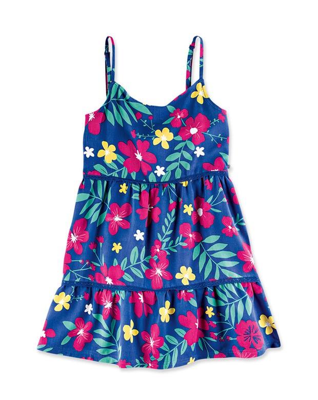 41d6942dee Bizz Store - Vestido Infantil Menina Hering Kids Floral Sem Manga
