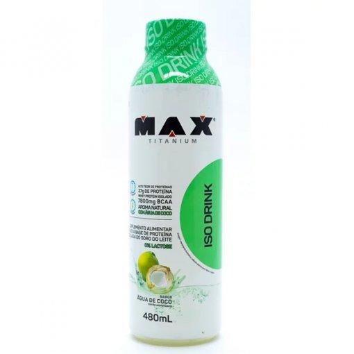 ISO DRINK 480ML - MAX TITANIUM