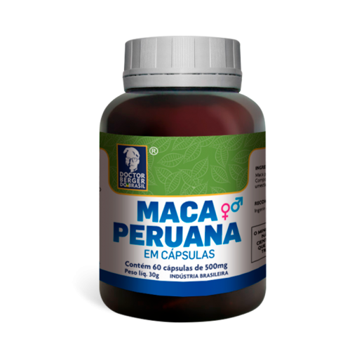 MACA PERUANA 500MG 60CAPS - DOCTOR BERGER