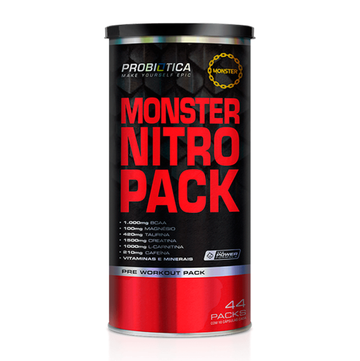 Pack Monster Nitro Pack - Probiótica