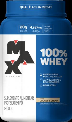 PROTEINA PURE WHEY 100% - MAX TITANIUM