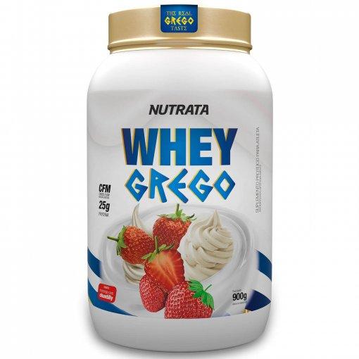 Proteína Whey Grego 900g - Nutrata