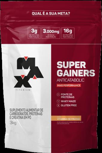 Super Gainers 3kg - Max Titanium