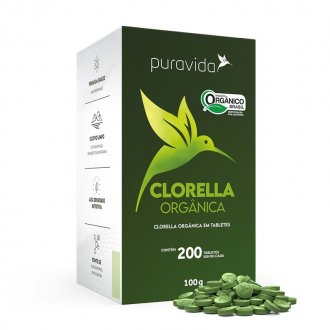 Imagem - CHLORELLA 500MG - PURA VIDA