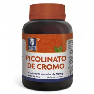 Imagem - CROMO PICOLINATO 90CAPS - DOCTOR BERGER