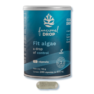 Imagem - Fit Algae 600Mg - Ocean Drop