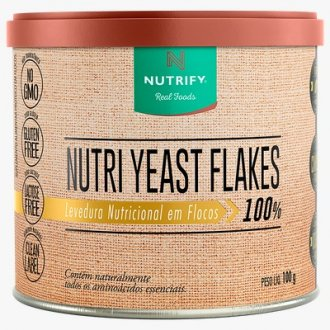 Imagem - Levedura Nutri Yest Flakes - Nutrify  cód: 001099