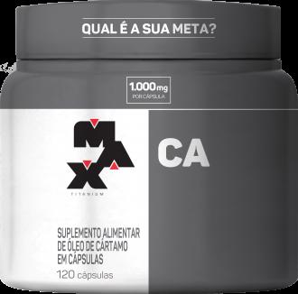 Imagem - Óleo De Cartamo CA 120CAPS - Max Titanium