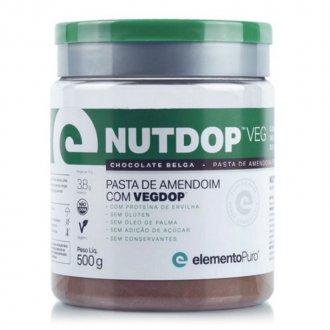 Imagem - Pasta de Amendoim Vegan Nutdop - Elemento Puro