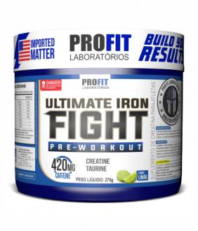 Imagem - Pré-Treino Ultimate Iron Fight 270g - Pro Fit - 004441