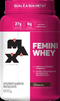 Imagem - Proteina Femini Whey 900G - Max Titanium