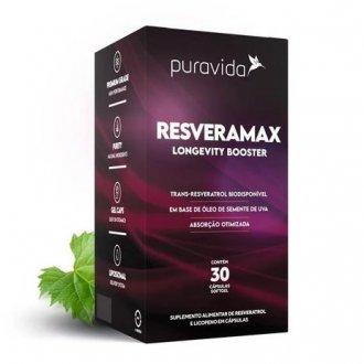 Imagem - RESVERAMAX 30CAPS - PURA VIDA