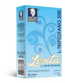 Imagem - TRIPTOFANO LEVITA 500MG 30CAPS - DOCTOR BERGER