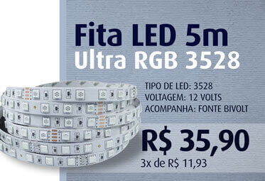 Fita LED 5m Ultra RGB