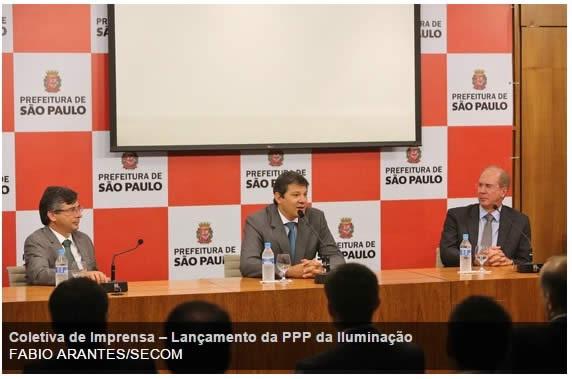 São Paulo irá substituir 620 mil lâmpadas de iluminação pública por LED