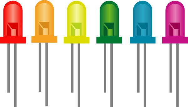 As Lâmpadas LED - História do LED