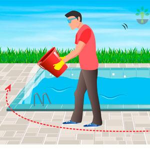 Imagem - Como aplicar cloro na piscina?