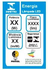 Imagem - Lâmpada LED Certificada Inmetro - Programa Brasileiro de Etiquetagem