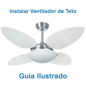 Imagem - Como instalar um ventilador de Teto