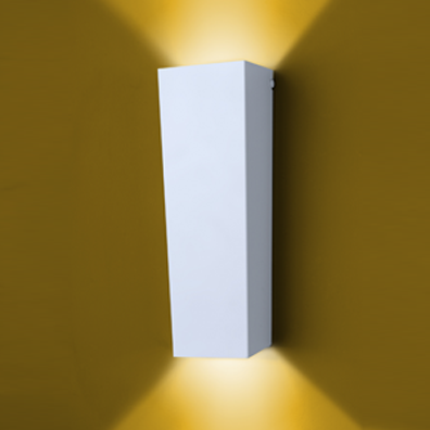 Arandela Alumínio P/ 2 Lâmpada E27 PAR20 50W