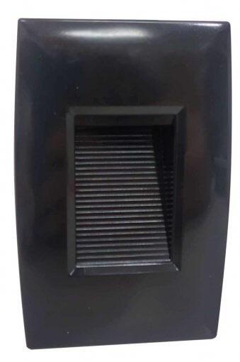 Balizador LED Embutir 2W p/ Caixinha 2X4 IP66 Branco Quente 3000K