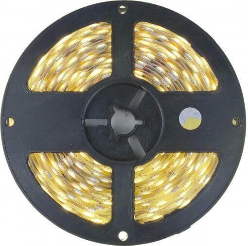 Fita LED 5050 Branco Neutro 300 Leds 5 Metros 12V IP20 Uso Interno
