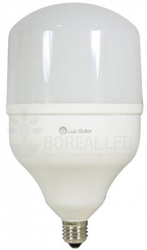 Lâmpada Alta Potência 30W LED E27 Bivolt Branco Frio 6500K Certificada Inmetro
