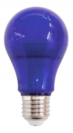 Lâmpada LED 7W Luz Azul Bulbo E27 90lm Bivolt IP44