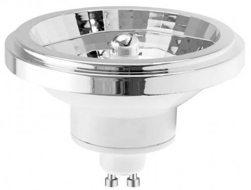 Lâmpada LED AR111 12 watts GU10 Bivolt Luz Branco Quente 2700K